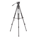 Libec TH-X Tripod & Fluid Head with Mid-Level Brace & Case