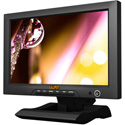 Lilliput FA1013/S 10.1 inch 16:9 LED monitor with 3G-SDI HDMI component and composite video Black Magic compatable