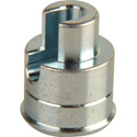 ICM LMTIP-S Silver Adapter Tip For F-Conns Silver/Nickel Connectors