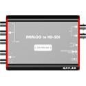 Lumantek LUM-BAT-AS Analog to HD/SDI Mini Converter for HD/SD Component or S-video signals to Dual SDI