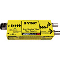 Lynx Yellobrik ORX 1712 Analog Video/Sync Singlemode 1310nm Fiber Receiver LC Connector