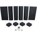 Primacoustic London 12A Acoustic Room Kit (Black) - For Rooms 120 Square Feet