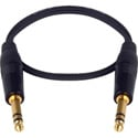 LoProfile 1/4 Inch Stereo Male to Male - 3ft