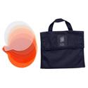 Litepanels 900-6225 Sola 4 5-Piece CTO Gel Set with Gel Bag