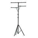 Lighting Stand with Side Bars Black Finish