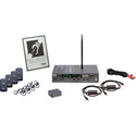 Listen Technologies LS-53-072 iDSP Prime Level I Stationary RF System (72 MHz) - Li-ion Battery Included