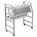 Luxor LOTM16 16 Tablet/Chromebook Open Charging Cart