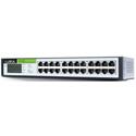 Luxul XGS-1024S 24-Port Gigabit 13 Inch Flex Mount Switch