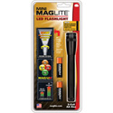 Maglite 2-Cell AA Mini-Mag LED Flashlight with Holster & (2) Batteries - Black - SP2201H