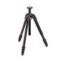 Manfrotto MT190GOA4US 190 Go! Aluminium 4-Section Camera Tripod with twist locks - Black