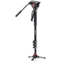 Manfrotto MVMXPRO500US XPRO Aluminum Video Monopod with 500 Series Video Head