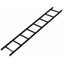 Mid-Atlantic CLB-6-W24 71 Inch Cable Ladder 6x24 - Black