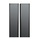 Middle Atlantic CRD-WMRK-42 42SP Solid Split Rear Door - Black