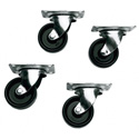 Middle Atlantic DTRK-W Set of 4 Casters for any DTRK