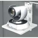 Middle Atlantic FVS-CMTB-128-WH Flexview Camera Mount - Fits Flexview Cart/Stand - White Powdercoat