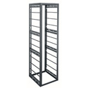 Middle Atlantic GRK-40-24HLRD 40 Space 24 Inch Deep Rack with Horizontal Bars