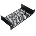 Middle Atlantic HR-UMS1-5.5 Multi Shelf with Mounting Holes - 5.5 Inch Depth