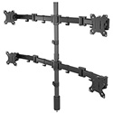 Middle Atlantic MM3-2X2BLK 2 Level Articulating Monitor Mount - 2X2