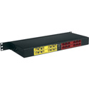 Middle Atlantic PD-DC-300-12-24V Maximum Power 300W DC Power Distribution with Split-Bank 12V and 24V Outputs