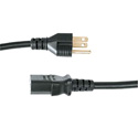 Middle Atlantic S-IEC-18X20 Standard IEC Power Cord/ 18 Inch/ 20 Pack