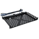 Middle Atlantic U1V Vented Universal Rackshelf - 1 Space