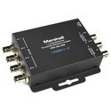 Marshall VDA-106-3GS 1x6 3G/HD/SD-SDI Reclocking Distribution Amplifier
