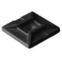 Black Tie Mount 1.115 x 1.115  100 Pack