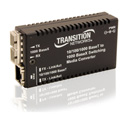 10/100/1000Btx to 1000Bsx Multimode SC Media Converter M/GE-PSW-SX-01-NA