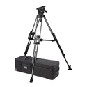 Miller 3164 ArrowX 7 Sprinter II 2-Stage Carbon Fiber Tripod System with Mid-Level Spreader