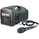 MiPro MA-101C/MM-107 45-Watt Personal Portable PA System with Handheld Mic - Rechargeable Li-ion Battery