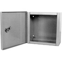 Milbank 12124-LC1 Indoor Surface Mount Hinged Cover Junction / Pull Box 12x12x4