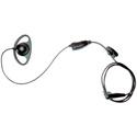 Motorola 56517 D-Ring Earpiece with In-line Clip PTT Mic
