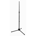 On-Stage Black Tripod Stand Adjustable 36In to 63In