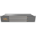 Matrix Switch MSC-2HD2432L 3G/HD/SD-SDI 24x32 2RU Routing Switcher -Button Ctrl