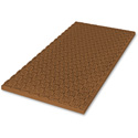 Sonex MSX-2 Mini Polyurethane Acoustic Panels 24 x 48 x 1.5 Inch Box of 8 Brown