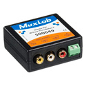 Muxlab 500049 Stereo AV/IR Pass-Thru Balun (Female RCA)