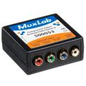 MuxLab 500053 VideoEase Component Video/Analog Audio Balun Female