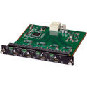 Muxlab 500481-I 4 Channel HDMI/RS232 Input Card / UHD-4K