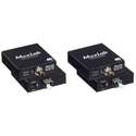 Muxlab 500712 6G-SDI Fiber Extender Kit - Single Mode (LC)
