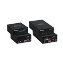 MuxLab 500755-AMP Audio / AMP Over IP Extender Kit with Mic & 50-Watt Per Channel Amp