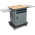 Marvel MVIG3022KMST Instructor Series Teacher Workstation - Gold - 14 Inch x 14.5 Inch Adjustable Height Side Shelf