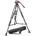 Manfrotto MVH502A546BK-1 Pro Video MVH502A with 546B Tripod
