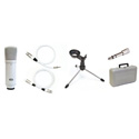 MXL Desktop Recording kit With Self Powered Condenser and Accessories
