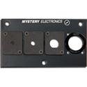 Mystery Electronics HFPN Front-Mount Hole Plug Neutrik D Position