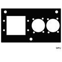 Mystery MPU FMCA Series Panel - Extron MAAP & 2 Each XLR