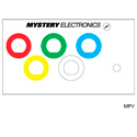 Mystery MPV FMCA Series Panel - 5 Each 1/2-Inch D with color coded label