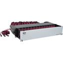 Tripp Lite N48K-42M8L168-B 50/125 OM4 Pre-assembled 40GB-10GB Patch Panel 42 MTP QSFP-168LC
