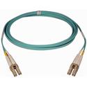 Tripp Lite N820-50M 50M (164-ft.) 10Gb Duplex MMF 50/125 LSZH Patch Cable (LC/LC) - Aqua