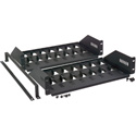 Rack Shelf to Hold (8) Satellite Receivers - Pair