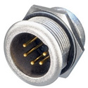 Neutrik NC5MPR-HD 5-Pole XLR Male Chassis Connector for Outdoor Use